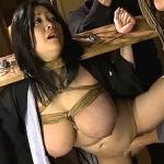 小向美奈子をSM調教!ぽっちゃり爆乳爆尻な女体を緊縛拘束して輪姦地獄!