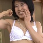 玉置洋子の初撮り!53歳アラフィフ五十路でスレンダー清楚な奥様が中出しハメ撮り!