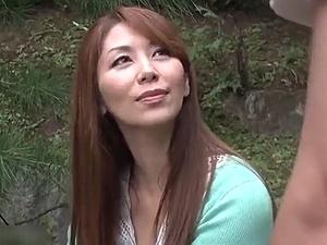 嫁の母と温泉旅行で…近親相姦!45歳・四十路の美熟女な嫁の母と露天風呂で青姦!翔田千里