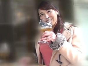 セレブ人妻ナンパ!ほろ酔いな45歳の巨乳妻をGET!! 他人棒で不倫ハメ撮り!