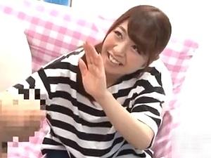 マジックミラー号!美人若妻が早漏クンとセンズリ鑑賞・手コキ・フェラ、そして…ニュプリ挿入!SEX!!!