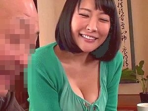 【羽生ありさ】義父と嫁の近親相姦!美巨乳おっぱいをした癒し系笑顔が魅力的な美人嫁!