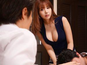 【三上悠亜】寝取られた巨乳美人妻!夫の部下と不倫関係になってしまい・・・