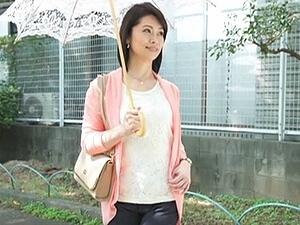 白山葉子の初撮り!52歳・五十路の熟女人妻が殻を破ってAVデビュー!!