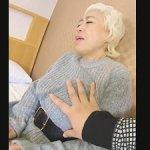金髪熟女ナンパ!54歳・五十路のパイパン金髪おばさん!