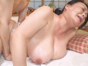 【鮎川るい】五十路母はHカップの爆乳おっぱい!ディープ近親相姦!