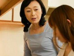 【有森なお美】姑と娘婿の背徳SEX!五十路(52歳)の嫁の母と一つに繋がって・・・